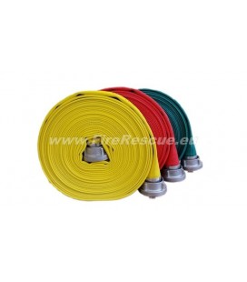 EUROFLEX TX SPECIAL FIREFIGHTING PRESSURE HOSE 75-B WITH STORZ COUPLINGS