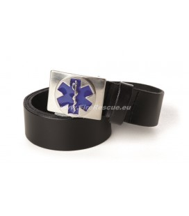 RESCUEWEAR LEATHER BELT STAR OF LIFE