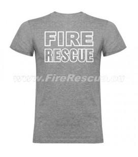 FIRERESCUE T-SHIRT - GREY