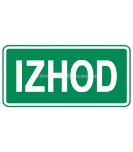 EVAKUIERUNG PLATTEN IZHOD
